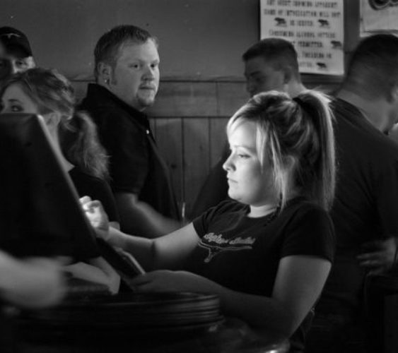 Customer waitress