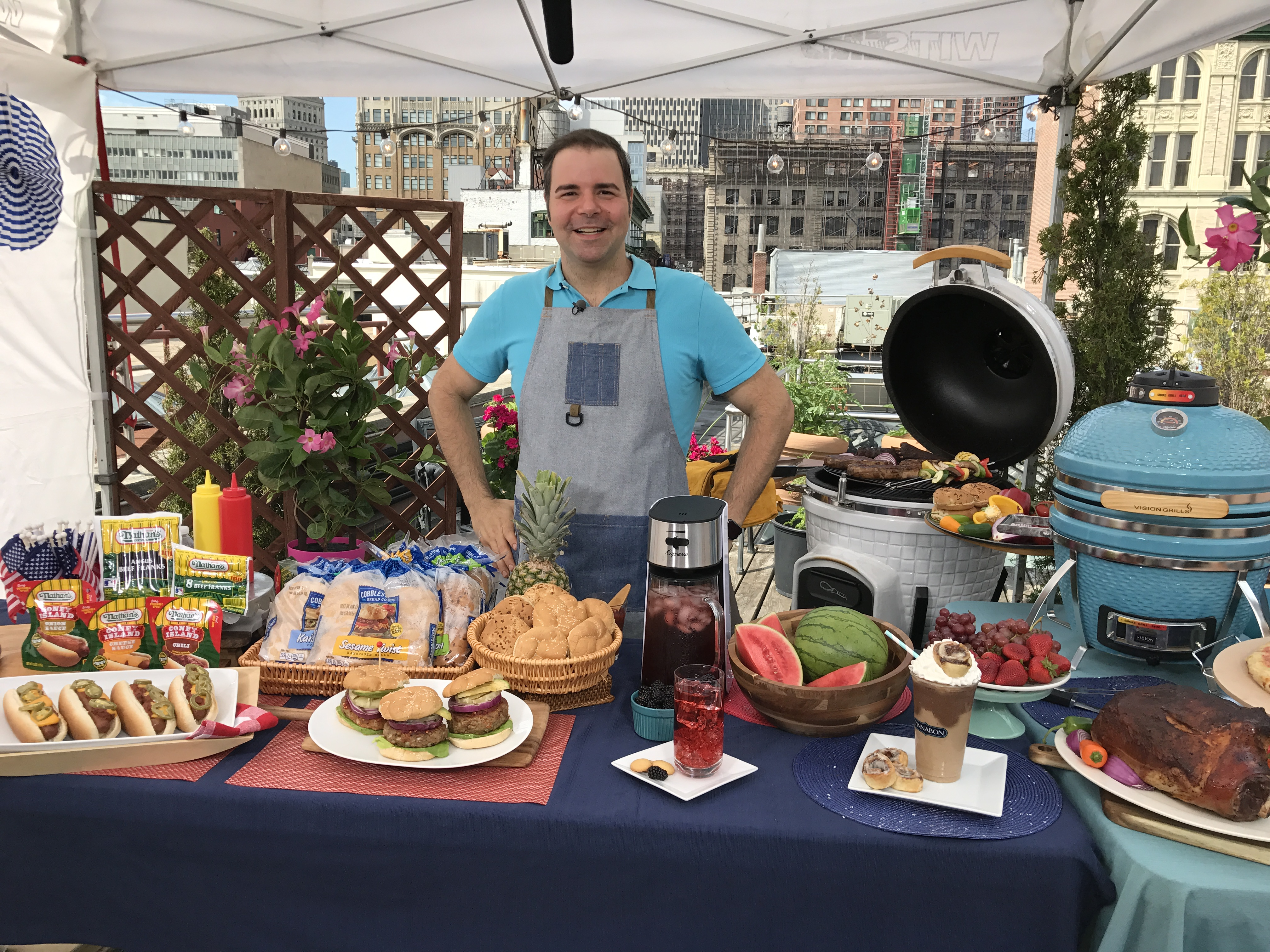 4th Of July Entertaining With Chef George Duran Daily Lounge